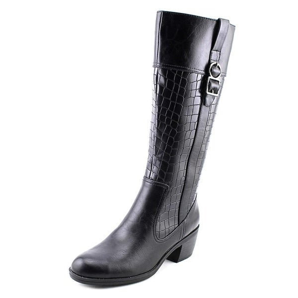 Life Stride Wish W Round Toe Synthetic Knee High Boot