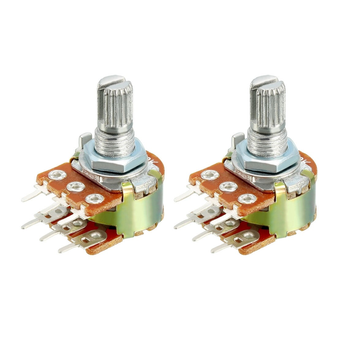 pack of 10pcs Variable Resistor Potentiometers 2k ohm