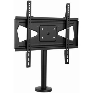 """Mount-It! Bolt Down TV Stand / Mount - Heavy Duty Swivel Table Top TV Mount for Screens 32"""" - 55"""" ( VESA Compatible)"""