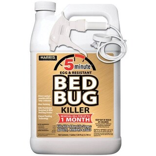 Harris GOLDBB-128 5 Minute Egg Kill & Resistant Bed Bug Killer, 1 Gallon