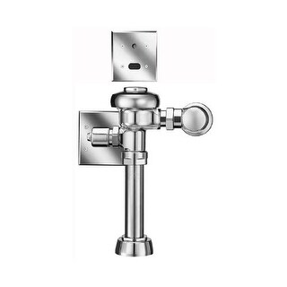 Sloan 111 ES-S Exposed, Low Consumption: (1.6gpf), Sensor Operated Royal? Model Water Closet Flushometer, for floor mounted or