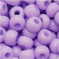 Czech Seed Beads 6/0 Wisteria Pastel Opaque (1 Ounce)