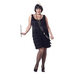 Womens Fashion Flapper Halloween Costume Plus Size (3 options available)