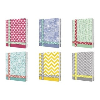 Kittrich Promarx Belle Design Hard Cover Composition Books, 100