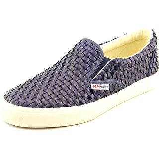 Superga Wavedpuw Women Round Toe Synthetic Blue Sneakers