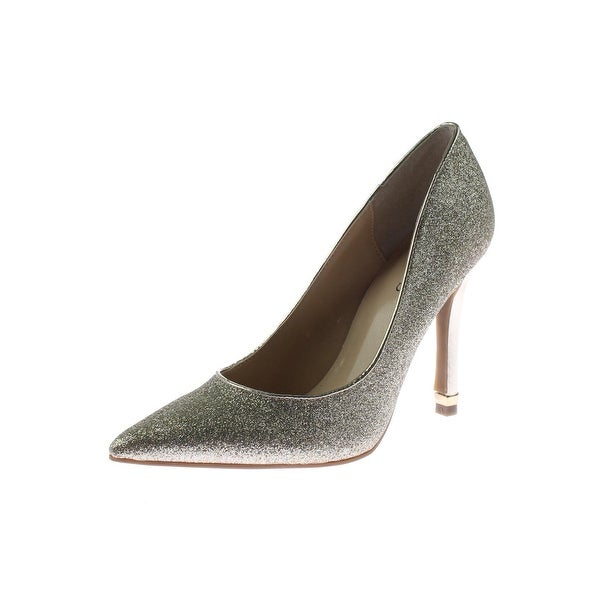 Guess Womens Trace 7 Pumps Glitter Pointed Toe - 5 medium (b,m)