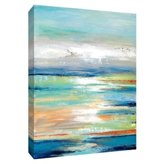 """PTM Images 9-148540  PTM Canvas Collection 10"""" x 8"""" - """"Out to Sea"""" Giclee Abstract Art Print on Canvas"""
