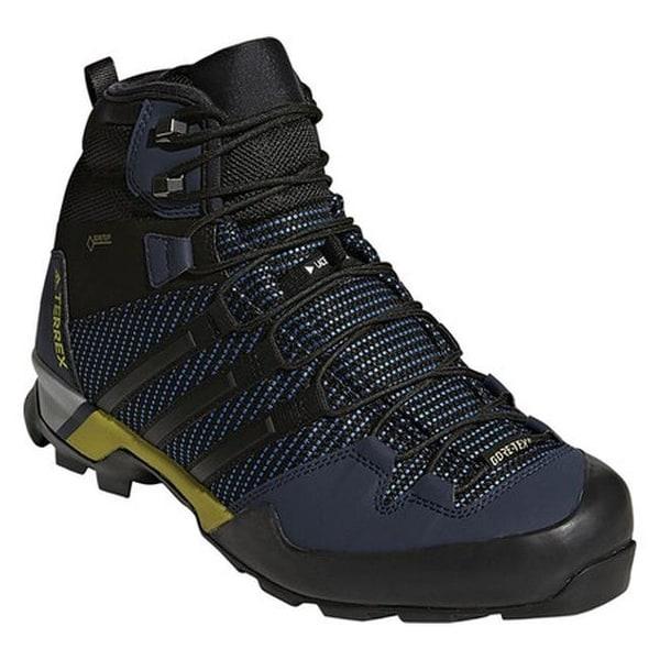 Shop adidas Men s Terrex Scope High GORE-TEX Approach Shoe Core Blue ... 4d35b3e2a