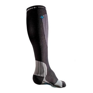 Dissent Ski GFX Hybrid Project Compression Socks - Black