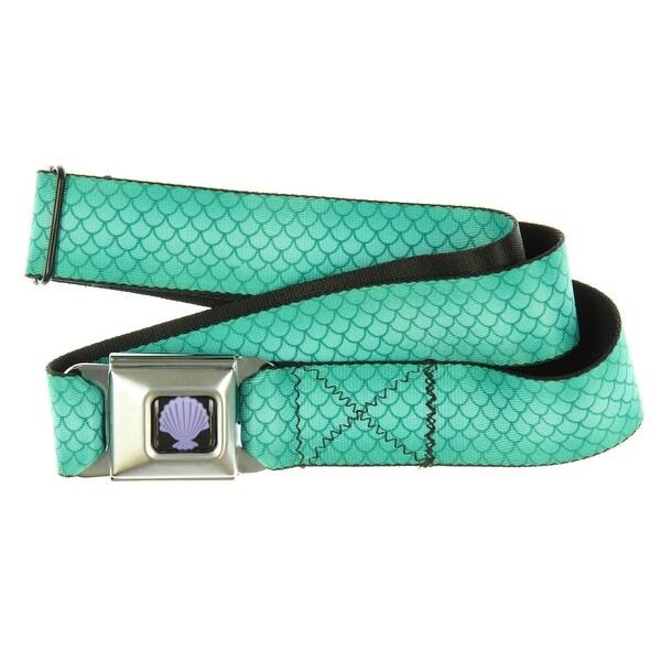 Disney Little Mermaid Seatbelt Belt-Holds Pants Up