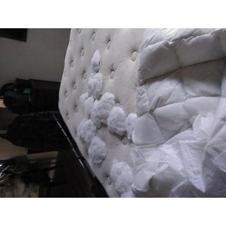 Supreme Loft Cloud Down-alternative White Cotton Mattress Pad