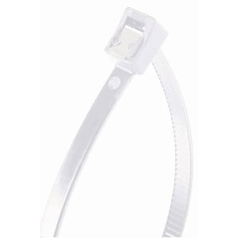 Gardner Bender 46-311SC Double Lock Self Cutting Cable Tie, Nylon, 50 Piece