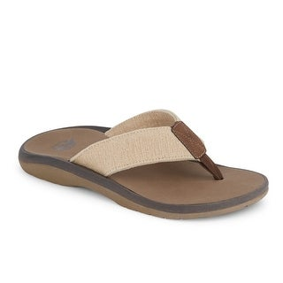Dockers Mens Skipper Flip-Flop Sandal Shoe with Smart 360 Flex