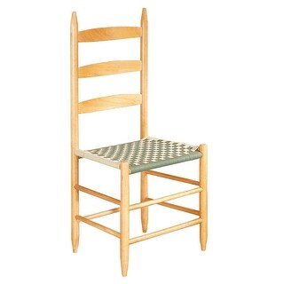 Kitchen Chairs Ladderback Green Beechwood 42.5 H Renovator's Supply