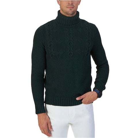 Nautica Mens Textured Pullover Sweater