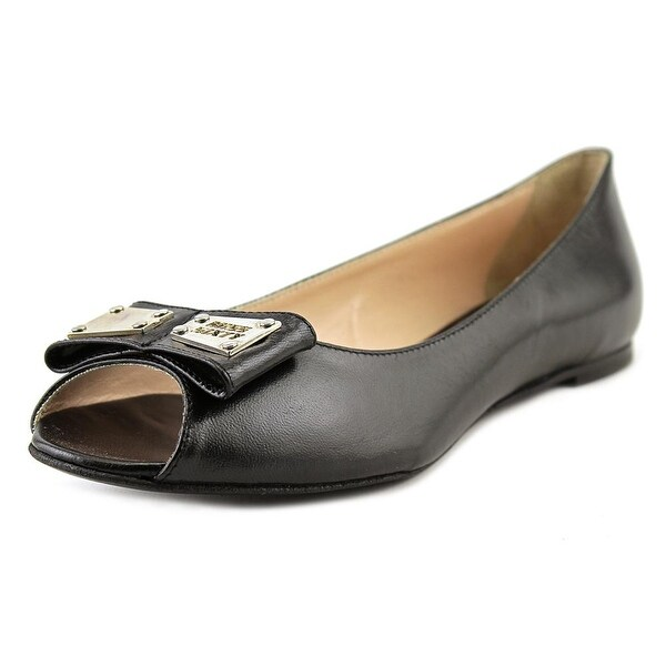 Miss Sixty Amber Round Toe Leather Ballet Flats