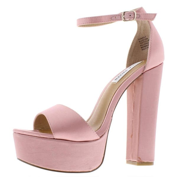 90651fc724f Shop Steve Madden Womens Gonzo Dress Sandals Platform - Free ...