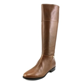 Cole Haan Primrose Riding Boot Round Toe Leather Knee High Boot