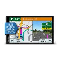 Garmin DriveSmart 61LMT-S GPS Vehicle Navigation System w/ Free Lifetime Map & Traffic Updates