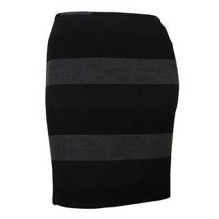 Tahari Women's Striped Ponte Pencil Skirt - 16p
