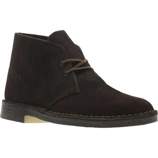 00bb79016 Shop Clarks Men s Desert Boot Brown Brown Suede - Free Shipping Today -  Overstock - 25435115