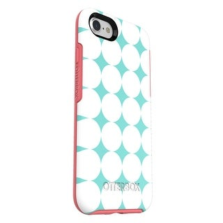 OtterBox SYMMETRY SERIES Case for iPhone 8 & iPhone 7 - Halftone (Aqua Mint/Candy Pink/Halftone Graphic) - WHITE
