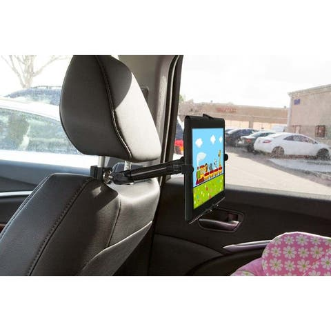 Mount-It! Car Headrest iPad Mount, Vehicle iPad Holder
