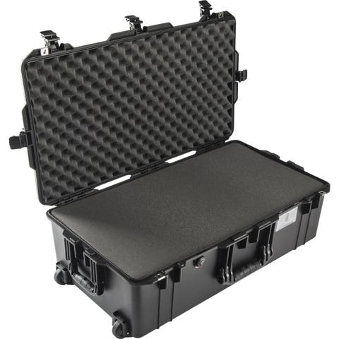 Pelican 1615Air Wheeled Check-In Case with Pick-N-Pluck Foam (Black)