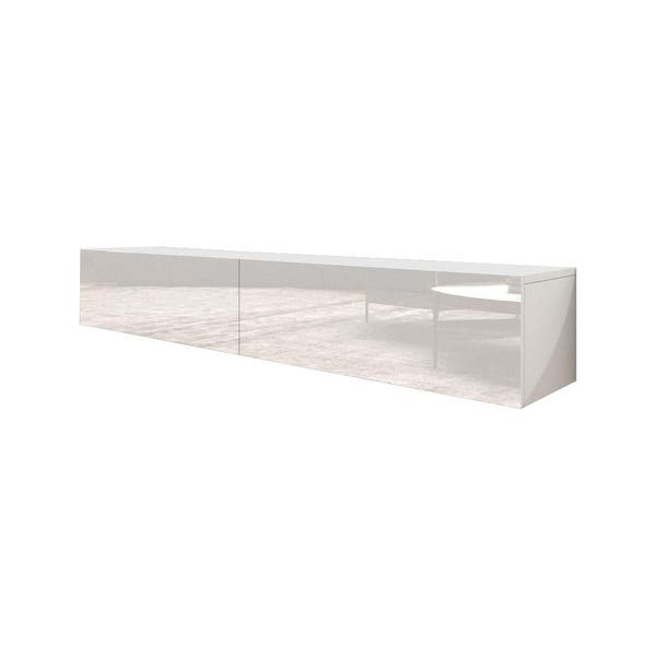 Berno Modern High Gloss Wall Mounted Floating 71 Tv Stand On Sale Overstock 24250820