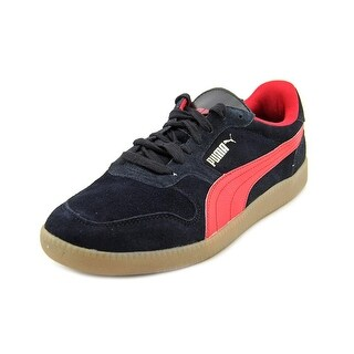 Puma Icra Trainer Men  Round Toe Synthetic Black Sneakers