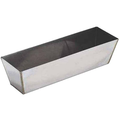 "Marshalltown 16396 Heli- Arc Drywall Mud Pan, 14"", Stainless Steel"