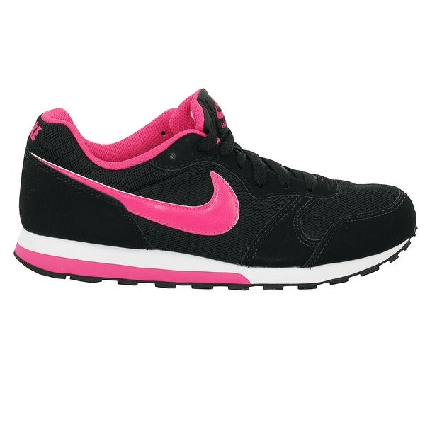 Nike Kids' MD Runner 2 Black Pink Shoes