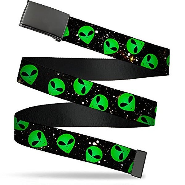 Buckle-Down Web Belt Alien 1.5""