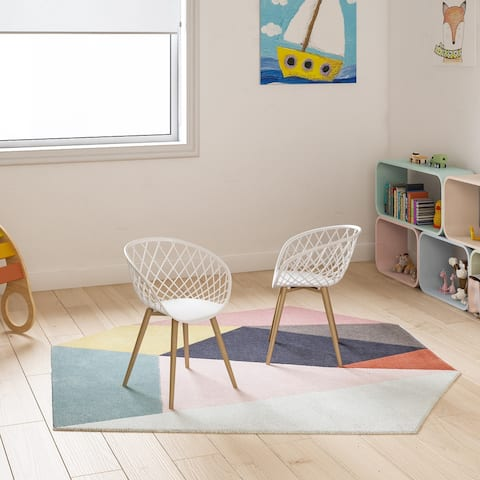 Carson Carrington Varo Mid-century Lightweight Mini Chair (Set of 2)