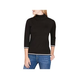 Tommy Hilfiger Womens Pullover Sweater Knit 3/4 Sleeves