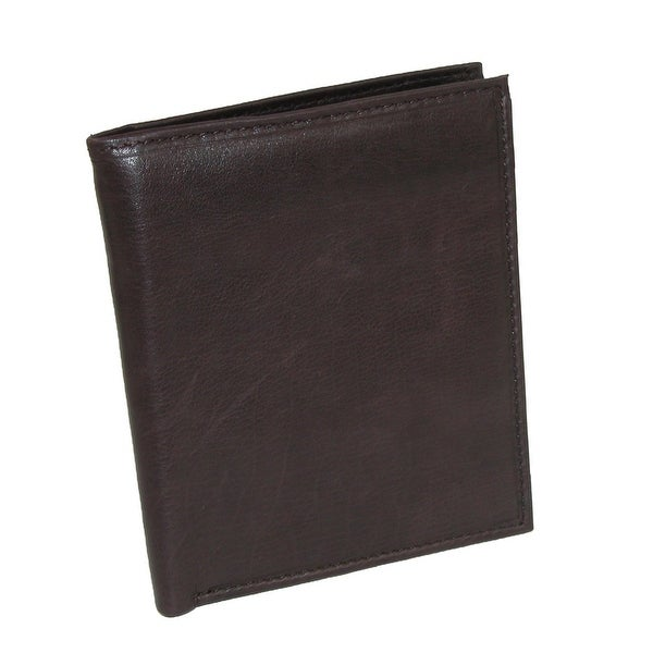 Paul & Taylor Men's Leather Large Hipster Wallet - One size