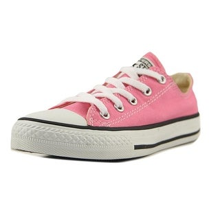Converse All Star Ox Women Round Toe Canvas Pink Sneakers