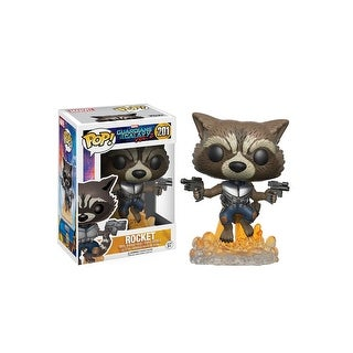 POP Rocket Raccoon Bobblehead Figure from Guardians 2