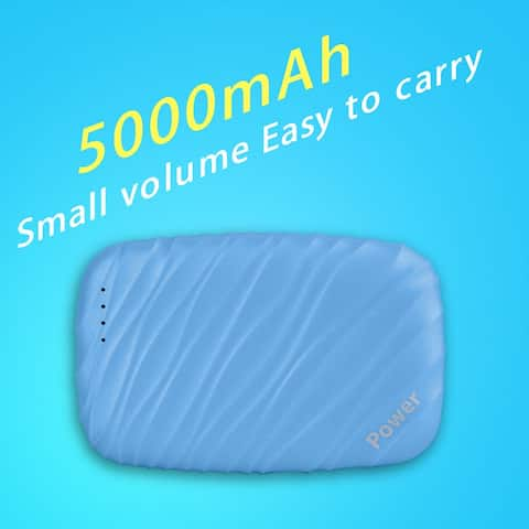 Blue Wave-type Portable Polymer Mobile Power 5000mAh