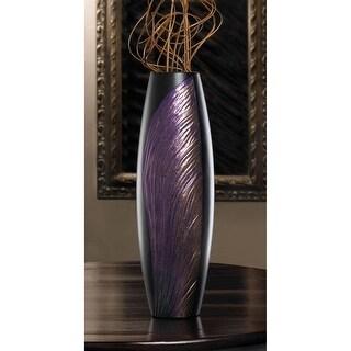 Shimmering Wing Decorative Vase