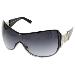 Swarovski SK0051/S 17B Black/Silver Mask/Shield Sunglasses