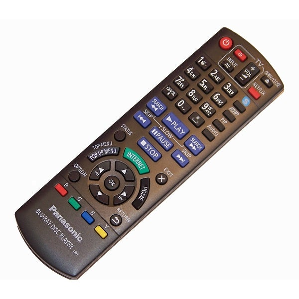 OEM Panasonic Remote Control Originally Supplied with DMPBDT220, DMP-BDT220