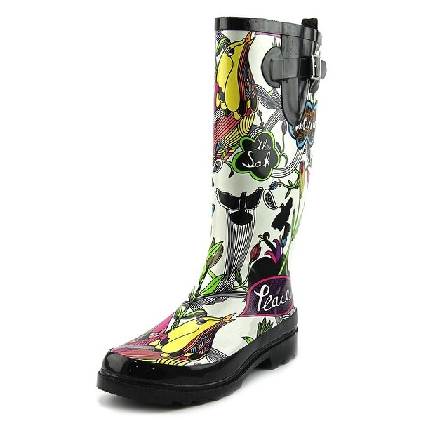 Sakroots Rhythm Women Round Toe Synthetic Multi Color Rain Boot