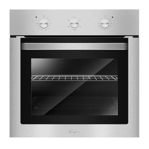 """24 in. Built-in Electric Single Wall Oven in Stainless Steel - 24"""""""