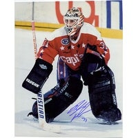 Signed Tabaracci Rick Washington Capitals 8x10 Photo autographed