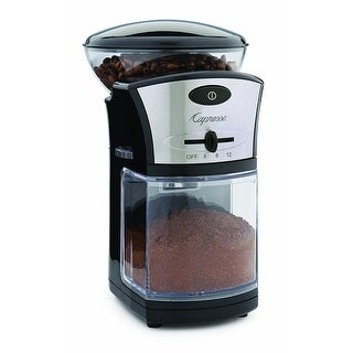 Capresso 559.04 Coffee Burr Grinder, 1/2 Lbs, Black
