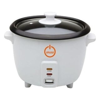 IMUSA GAU00012 5 Cup Rice Cooker - White