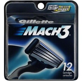 Gillette MACH3 Cartridges 12 Each