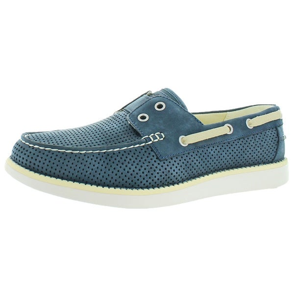 b8a573bdfbc4 Shop Tommy Bahama Mahlue Relaxology Men s Boat Deck Shoes - Free Shipping  Today - Overstock - 19968078