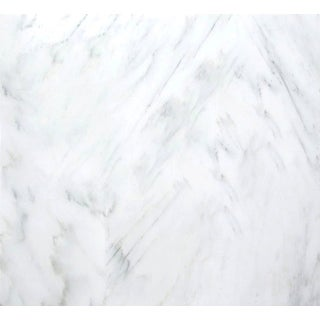 "Emser Tile M05WINT1818C  Marble - 18"" x 18"" Square Floor and Wall Tile - Polished Marble Visual - Winter Frost"